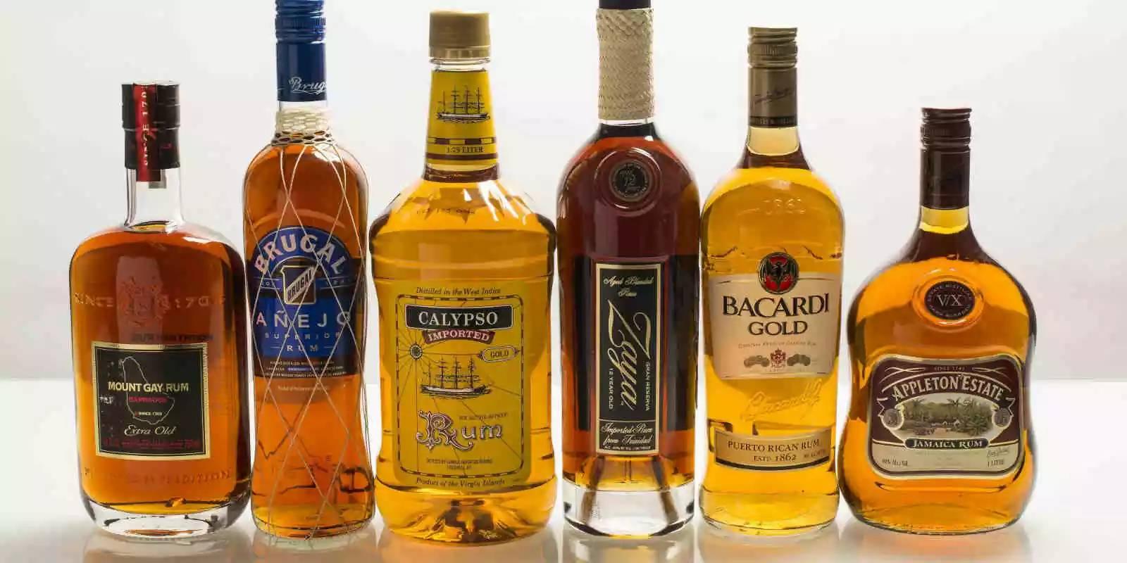 朗姆酒口味及分类(白朗姆,金朗姆,黑朗姆区别)