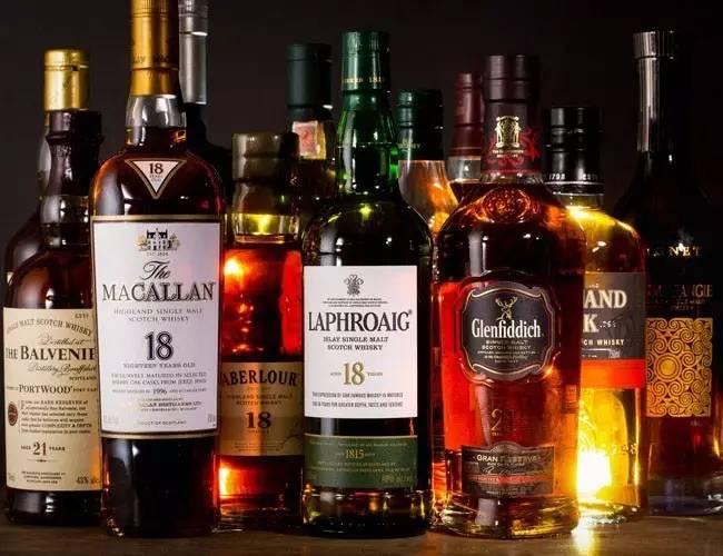 威士忌分类:从产地看威士忌分类